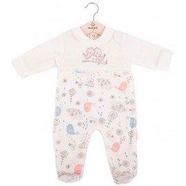 Pijama bebé niña enterizo Pajaritos