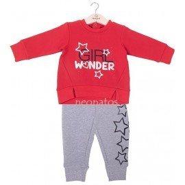Chándal bebé niña Wonder