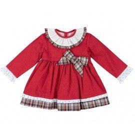 Vestido bebé niña rojo Essie