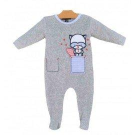 Pijama invierno mapache