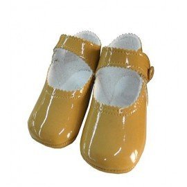 Zapatos bebe charol arena