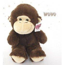 Peluche mono marrón