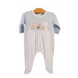 pijama celeste estrellas pillerias