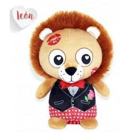 Peluche leon love