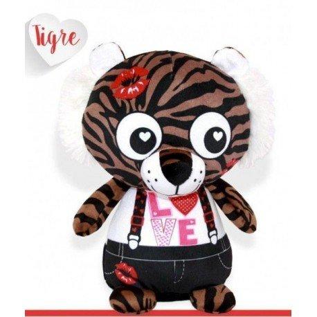 Peluche tigre love
