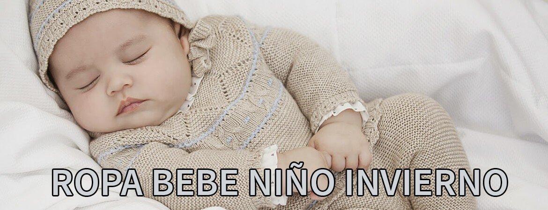 Ropa bebe invierno en Tienda Neonatos para niño
